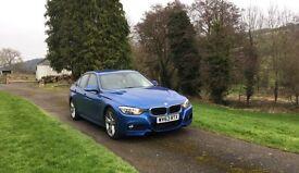 BMW 320d M Sport Blue