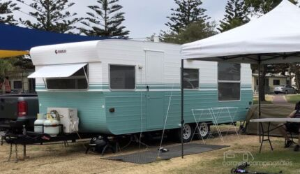 Franklin caravan with bunks newly renovated Bellevue Heights Mitcham Area Preview