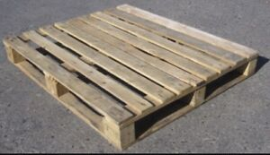 Looking for 2 wooden pallets