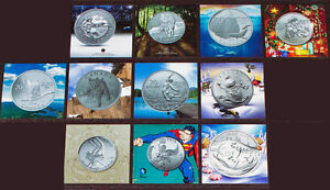 $20 for $20 SET OF 12 PURE SILVER COINS