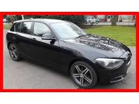 53000 Miles-- 2013 BMW 1 Series 1.6 Sports Hatch 114i -- 5 Door -- Low Mileage -- Part Exchange OK