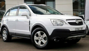 2010 Holden Captiva CG 5 AWD White 5 Speed Sports Automatic Wagon Sylvania Sutherland Area Preview