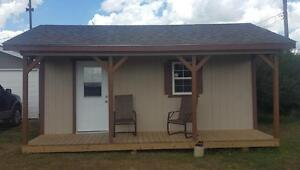 Man Cave, Office, Warm-up Shack 10' x 20'