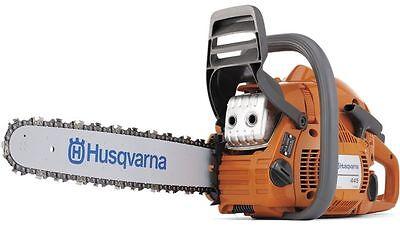 Motorsäge Husqvarna 445 II 38cm X-Cut-Kette Benzin Säge v.Fachhändler