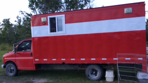 Fire Truck converted to RV/Mobile Office/Hunting Van