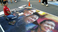 Victoria International Chalk Art Festival