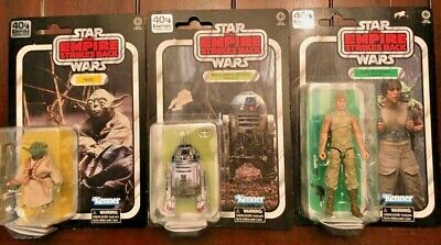 Star Wars Dagobah Black Series Set- Luke, R2, Yoda- MISP- SHIPS FAST