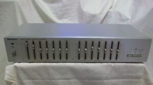 Technics Stereo Graphic Equalizer model SH-8025 MINT