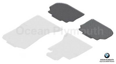 Genuine BMW All Weather Rubber Rear Floor Mats 5 Series F10F11 51472346785