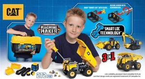 NEW: CAT Apprentice Multi Machine Makers(Construction Toy)