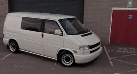 Vw Transporter T4 banded steel wheels, 5x112, staggered mercedes 17 inch