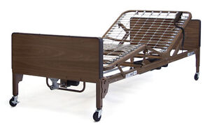 Semi-Electric Hospital Bed with Mattress