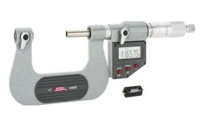15-989-7 Spi Electronic Screw Thread Micrometer 1-2 With Cert