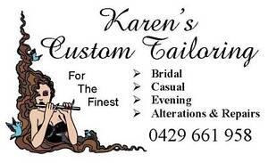 Karen's Custom Tailoring Toowong Brisbane North West Preview