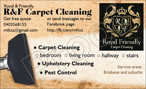R&F Carpet Cleaning - 3 bedrooms from only $75 Hallway Free Eight Mile Plains Brisbane South West Preview