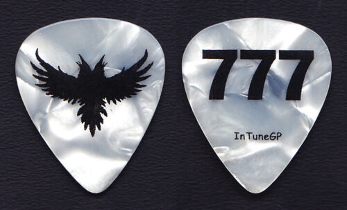 Black Crowes Marc Ford 777 White Pearl Guitar Pick - 2005 Tour