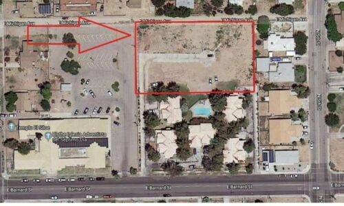 Buildable flat lot in developed residential Riverside County California