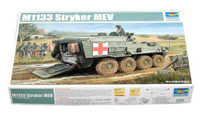 Trumpeter 9361559 Radschützenpanzer M1133 Stryker MEV 1:35 Modellbausatz