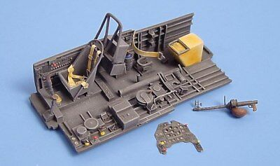 Aires 1/48 Junkers Ju87B-2 Cockpit Set unpainted for Hasegawa kit 4026/*