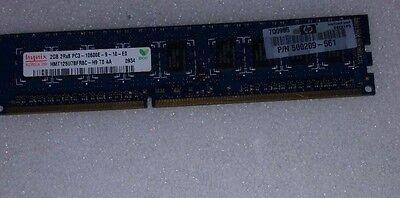 2GB PC3-8500E 2RX8 240PIN 128X8 DDR3-1066 18CHIPS ECC UNBUFFER WORKSTATION RAM