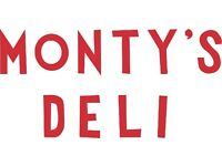 General Manager - Monty's Deli Hoxton