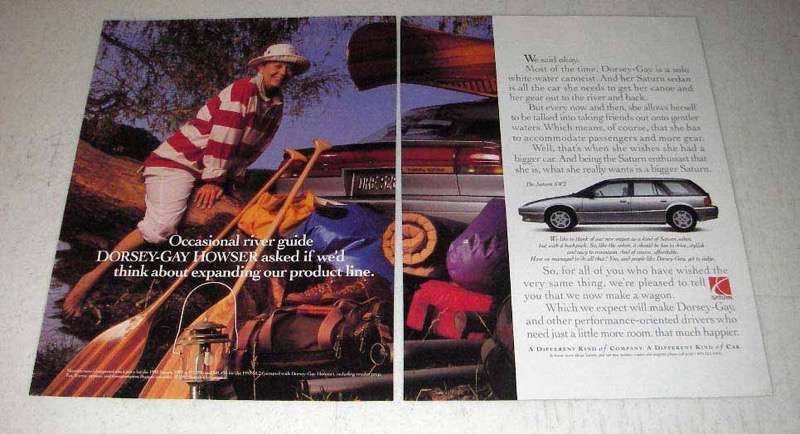 1993 Saturn SW2 Car Ad - Expanding Product Line