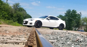 2015 SUBARU BRZ Series Blue Limited-edition Crystal White Pearl