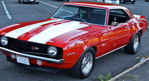 Looking for a first generation camaro.