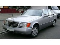 Wanted Mercedes W140 W126 - SEL SE S Class - S320 S500 S430 500 SEL SE