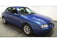 2003(03)ALFA ROMEO 1.8 TWIN SPARK TURISMO MET BLUE,LOW MILES,CLEAN CAR,GREAT VALUE
