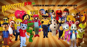 MASCOTTE costume TROLL BARNEY MINION fête enfant party garderie West Island Greater Montréal image 8