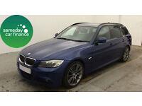 £219.57 PER MONTH BMW 318D 2.0 SPORT PLUS EDITION TOURING ESTATE DIESEL