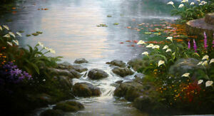 "Thomas Kinkade ""Garden of Prayer"" Art Print Stratford Kitchener Area image 6"