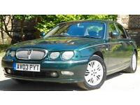2003 Rover 75 1.8 T Club SE 4dr Manual Saloon