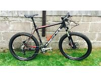 Carbon Fibre Mountain Bike , XT, Thomson Elite