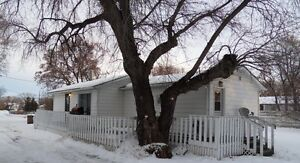 Two bedroom home on large triple lot in Melfort
