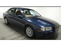 2002(52)VOLVO S80 D5 S 2.4 DIESEL MET BLUE,CLEAN CAR,BIG MPG,TOW HITCH,GREAT VALUE