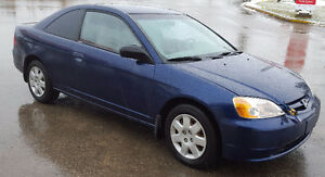 2002 Honda Civic Coupe Coupe (2 door)