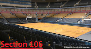 Toronto Raptors Tickets (All Games) - S106 Row 23