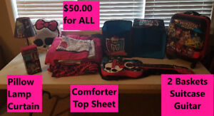 Monster High Bedroom Set