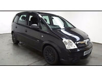 2007 VAUXHALL MERIVA 1.3 CDTi LIFE BLACK,LOW MILES,CLEAN CAR,GREAT VALUE