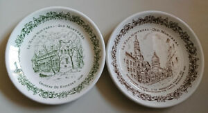 Vintage Le Vieux Montreal - Old Montreal Collectors Plates