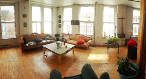 Room for June in 3000 sq-ft loft in downtown Montreal