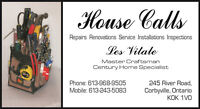 Repairs, Renovations, Installations, Inspections