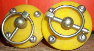 2- POLYURETHANE HOOD PIN KITS ,  YELLOW $40.00 A PAIR Belleville Belleville Area image 3