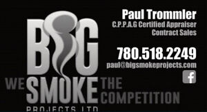 CERTIFIED APPRAISALS NOW AVAILABLE BY BIG SMOKE PROJECTS LTD.