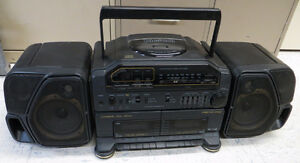 Vintage Fisher PH-D8000 Ghetto Blaster Boombox