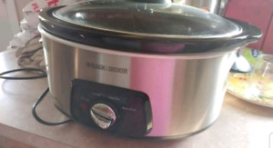 Black and decker crockpot/slow cooker