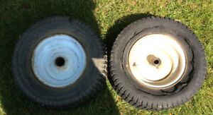 2 Utility Tires and Wheels