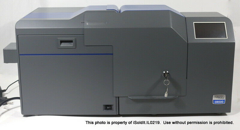 ENTRUST DATACARD CARD PRINTER Model CR500